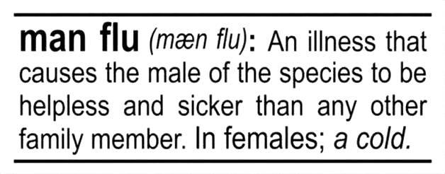 Man Flu Definition